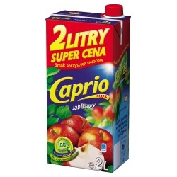 DRINK BOX CAPRIO APPLE 2 L (6 szt.)