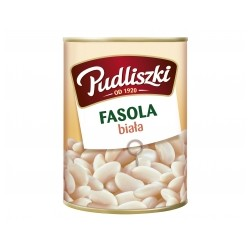 CANNED WHITE BEAN 400 G (20 szt.)