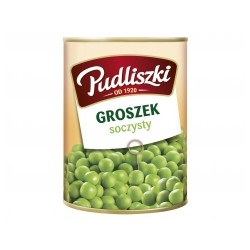 CANNED GREEN PEAS 400 G (20szt.)