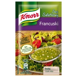 SAUCE INSTANT KNORR FOR SALAD FRENCH STYLE 9 G (40 szt.)