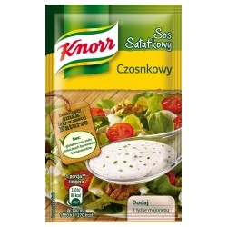 SAUCE INSTANT KNORR FOR SALAD GARLIC 9 G (40 szt.)