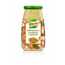 SAUCE KNORR FOR DISH CRAM MUSHROOMS 500 G (6 szt.)