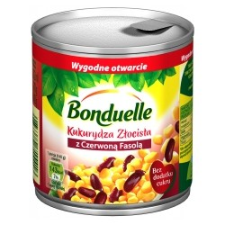 CANNED CORN GOLDEN WITH RED KIDNEY BEANS 170G/212ML (12 szt.)