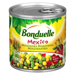 CANNED MIX VEGETABLE MEXICO WITH GOLDEN CORN 425 ML (12 szt.)