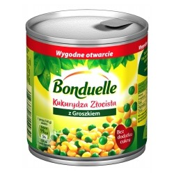 CANNED CORN GOLDEN WITH GREEN PEAS 212 ML (12 szt.)