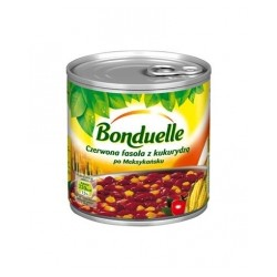 CANNED RED KIDNEY BEAN WITH CORN MEXICAN STYLE 430 G (12 szt.)