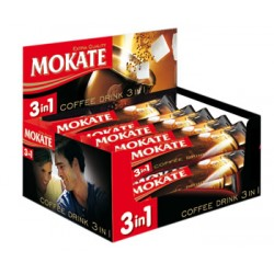 COFFEE INSTANT MOKATE 3IN1 DISP 18 G*15 (4 szt.)