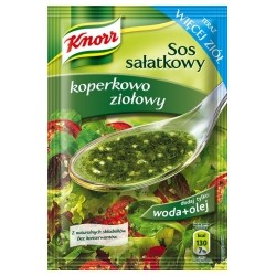 SAUCE INSTANT KNORR FOR SALAD DILL HERBS 9 G (40 szt.)
