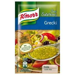 SAUCE INSTANT KNORR FOR SALAD GREEK STYLE 9 G (40 szt.)