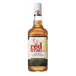 BOURBON JIM BEAM RED STAG BLACK CHERRY 40% 700ML STOCK 6 szt.