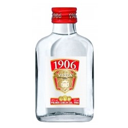 WÓDKA 1906 40% 100ML STOCK 16 szt.